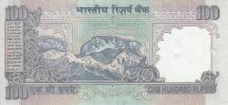 Imaginea #2 a 100 Rupees ND (1996) - L - semnătură C. Rangarajan