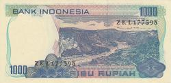 Image #2 of 1000 Rupiah 1980
