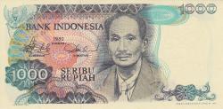 Image #1 of 1000 Rupiah 1980