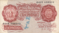 Image #1 of 10 Shillings ND (1955-1960)