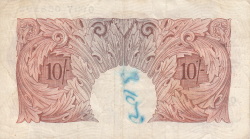 Image #2 of 10 Shillings ND (1955-1960)