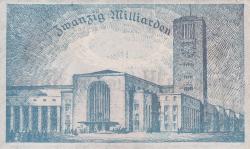 Image #2 of 20 Milliarden (20 000 000 000) Mark 1923 (19. X.) - Reihe 1