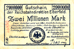 Image #1 of 2 Millionen (2 000 000) Mark 1923 (16. VIII.)