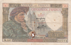 50 Francs 1941 (20. XI.)