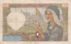 Imaginea #2 a 50 Franci 1941 (20. XI.)