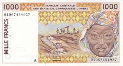 Image #1 of 1000 Francs (20)01