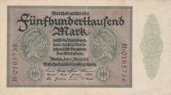 Image #1 of 500 000 Mark 1923 (1. V.) - 7 digit serial