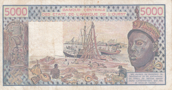 Image #2 of 5000 Francs 1991