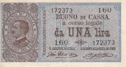 Image #1 of 1 Lira D. 1914 (1914-1922)