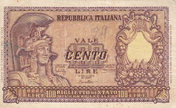 Image #1 of 100 Lire 1951 (31. XII.)