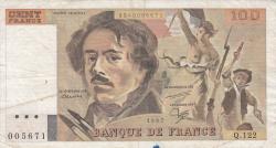 Image #1 of 100 Francs 1987