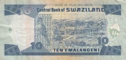 Imaginea #2 a 10 Emalangeni 2006 (1. IV.)