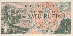 Image #1 of 1 Rupiah 1960
