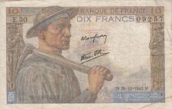 Imaginea #1 a 10 Franci 1942 (26. XI.)