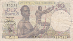 Image #1 of 10 Francs 1946 (18. I.)
