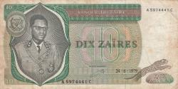 Image #1 of 10 Zaïres 1979 (24. VI.)