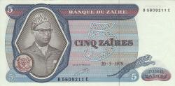 Image #1 of 5 Zaïres 1979 (20. V.)