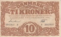 Imaginea #1 a 10 Coroane 1941 - Serie R