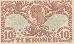 Imaginea #2 a 10 Coroane 1942 - Serie R