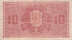 Imaginea #2 a 10 Markkaa 1945 (1948) - semnături Raittinen / Aspelund
