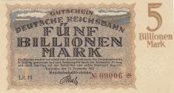 Image #1 of 5 Billionen (5 000 000 000 000) Mark 1923 (15. XI.)