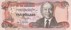 5 Dolari 2001