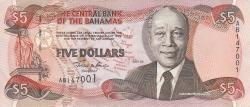 Image #1 of 5 Dollars 2001