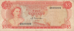 Image #1 of 5 Dollars L.1974