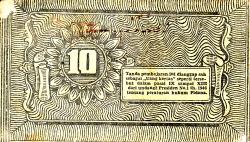 Image #2 of 10 Rupiah 1948 (1. IV.)