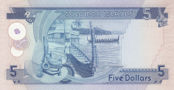 Image #2 of 5 Dollars ND (1977)