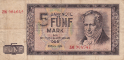 Image #1 of 5 Mark 1964 - replacement note