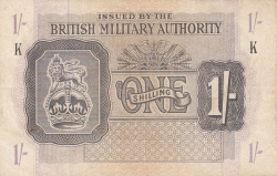 Image #1 of 1 Shilling ND (1943)