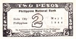 Imaginea #2 a 2 Pesos 1944 (1. V.)