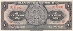Image #1 of 1 Peso 1961 (25. I.) - Serie JW