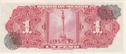 Image #2 of 1 Peso 1961 (25. I.) - Serie JW