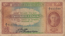 Image #1 of 2 Shillings ND (1942)