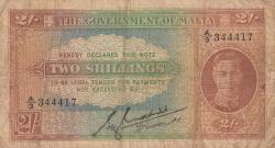 Imaginea #1 a 2 Shillings ND (1942)
