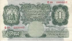 Image #1 of 1 Pound ND (1928-1929)