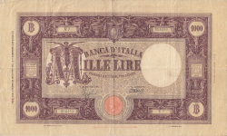 Image #1 of 1000 Lire 1943 (6. II.)