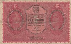 Image #1 of 5 Korun 1919 (15. IV.)