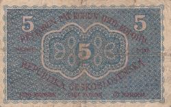 Image #2 of 5 Korun 1919 (15. IV.)
