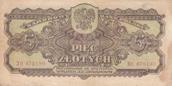 5 Zlotych 1944