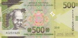 Image #1 of 500 Francs 2018