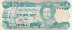 Image #1 of 10 Dollars L.1974 (1984)