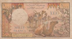 Imaginea #2 a 1000 Francs ND (1988)