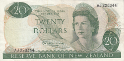 Image #1 of 20 Dollars ND (1967-1968)