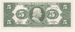 5 Colones 1983 (25. VIII.)