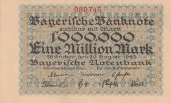 Image #1 of 1 Million (1 000 000) Mark 1923 (20. VIII.)