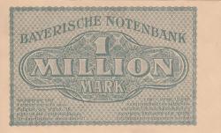 1 Million (1 000 000) Mark 1923 (20. VIII.)