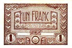 Image #2 of 1 Franc ND (1944)